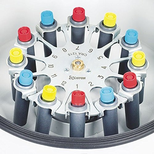Servo Spin universal Centrifugadora con oscilante Rotor 12x 15ml–tranquila y silenciosa mediante bürstlosem Motor ┇ velocidad: 100–3600U/min ┇ unidad Tiempo: 1hasta 99min ┇ versátil Uso en laboratorio, química, Farmacia, la industria, etc. Centrifugadora