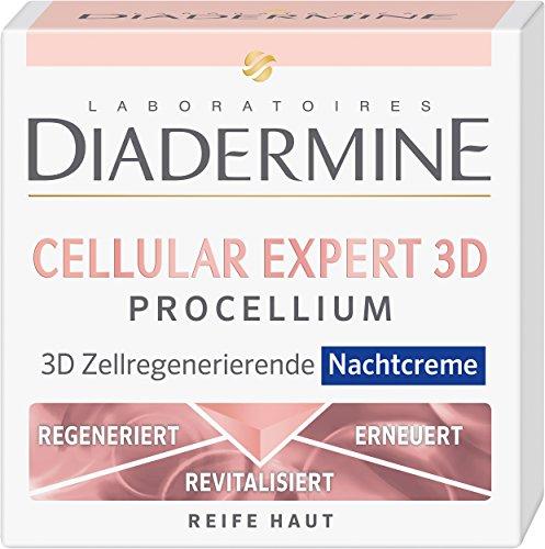 Diadermine Nachtcreme Cellular Expert 3D Procellium, 1er Pack (1 x 50 ml)