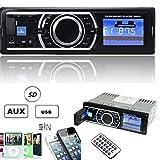 'ePathChina® 25W x 4canali auto Amplificatore Audio Stereo In-Dash ricevitore ingresso AUX con lettore SD USB mp3radio fm immagine