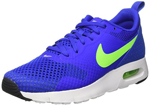 Nike Racer Blue/Electric Green-Wht, Chaussures de Sport Garçon, Bleu (Racer Blue / Electric Green-wht), 38.5 EU