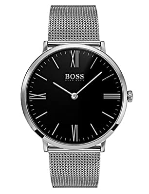 Hugo BOSS Mens Analogue Classic Quartz Watch with Stainless Steel Strap 1513514