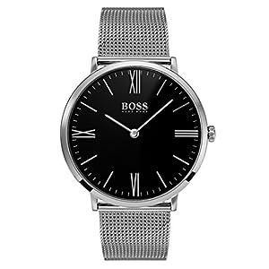 Hugo BOSS Reloj Análogo clásico para Hombre de Cuarzo con Correa en Acero