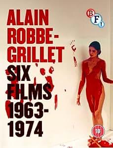 Alain Robbe-Grillet Collection (3 Blu-Ray) [Edizione: Regno Unito] [Import anglais]