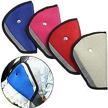 Ajustador del cinturón de seguridad del asiento del automóvil para los niños, adaptador del protector