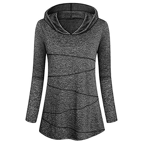 Kobay Sportshirt Damen Kurzarm Locker Bluse Yoga Oberteile Activewear Running Workout T-Shirt (XXXXXL, Schwarz-1)