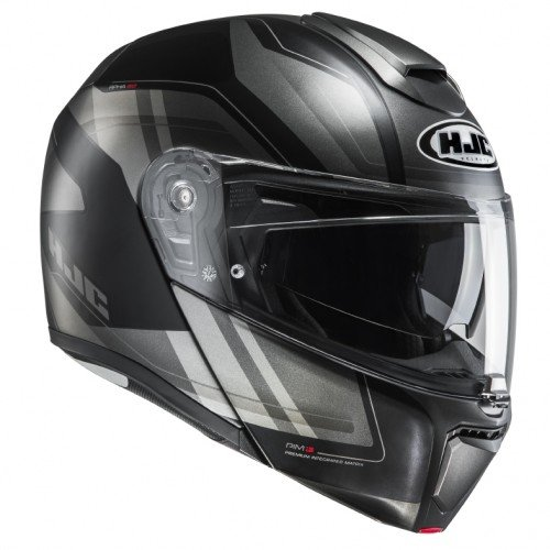 Preisvergleich Produktbild HJC Motorradhelm RPHA 90 Tanisk MC5SF,  Schwarz,  Größe XS