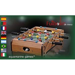 Aquamarine Games – Futbolín de Mesa (Compudid CP016)