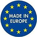 """Doppler 8 cm Luxus Rollliegenauflage mit Kopfkissen 8607"""", Taupe rot kariert, Made IN Europe von Doppler auf Gartenmöbel von Du und Dein Garten"""