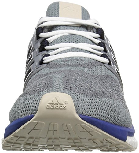 Adidas Performance Energy Boost 3 M Laufschuh, mid grau / schwarz / Ausrüstung Blau, 6,5 M Us Grau / Grün (Mid Grey/Unity Ink/Vapour Green)