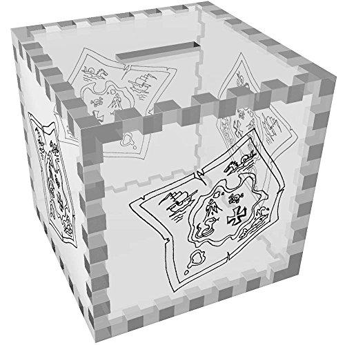 Azeeda 'Mapa Tesoro' Caja Dinero / Hucha MB00062887