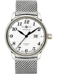 Zeppelin Herren-Armbanduhr Big Date Analog Automatik Edelstahl 7652M1S