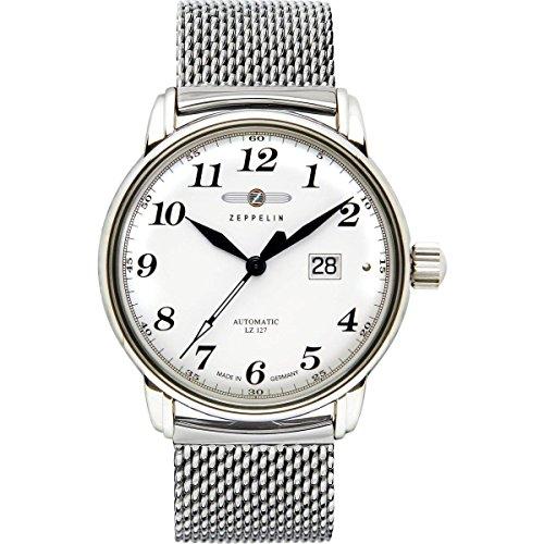 Zeppelin Watches - 7652MS-1 - Montre Homme - Automatique - Analogique - Bracelet Acier Inoxydable