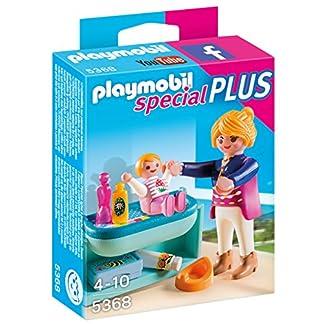 PLAYMOBIL – Mamá y niño con Cambiador (53680)