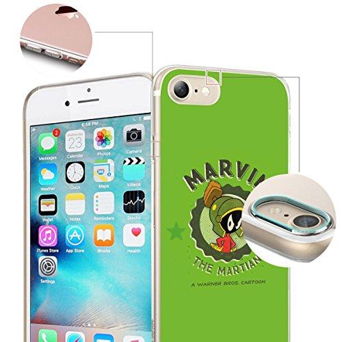 """FINOO iPhone 5 und 5S Silikon Case TPU Handy-Hülle """"Colored Series"""" Motiv   dünne stoßfeste Schutz-Cover Tasche mit lizensiertem Muster   Zubehör für das Original Apple iPhone 5/5S   Tweety Pie Marvin"""