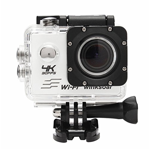 Price comparison product image FeLiCia Waterproof SJ8000 Ultra 4K HD 1080P WiFi 2.0Inch LCD Sports Action Mini DV Camera - White