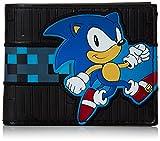 Portefeuille'Sonic' - Blue Face - Unisex