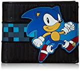 Sonic - Black, Running Sonic Bifold Wallet Bild