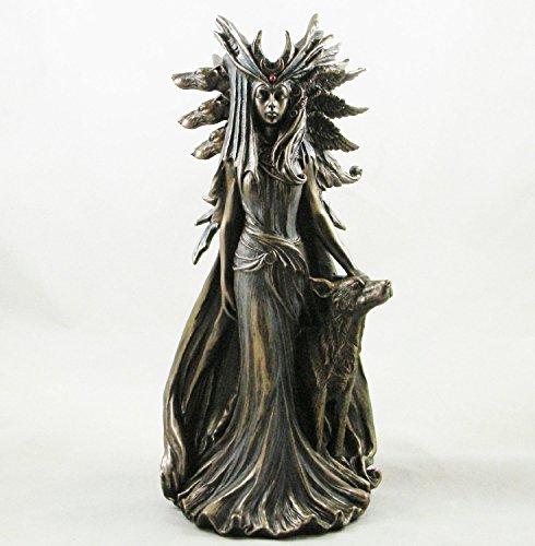 'hécate' Diosa griega diosa Bronce Figura decorativa