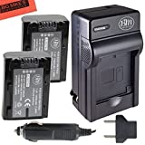 Sony CyberShot DSC-HX1 DSC-HX100V DSC-HX200V HDR-TG5V A100 Digital Camera Battery And Charger Kit Includes Qty...