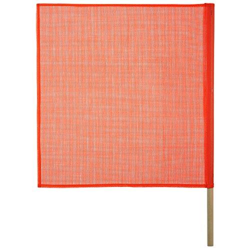Keeper (04901) 18 x 18 Safety Flag with Wooden Dowel by KEEPER