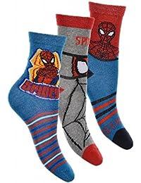 Pack de 3 pares de calcetines de Spiderman 31/34