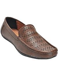 Kolapuri Centre Brown Color Casual Slip On Shoe For Men's - B075MDPRK6