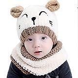 Tukistore Inverno del bambino delle ragazze dei capretti dei ragazzi di  lana caldo sciarpa ricopre i 887e29a42c5a