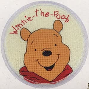 Designer Stitches Motif de point de croix Winnie l'ourson