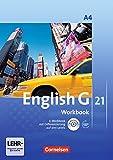 English G 21 - Ausgabe A / Band 4: 8. Schuljahr - Workbook mit Audio-Materialien