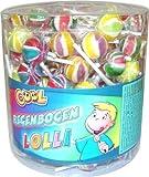 Lutscher Cool Lollies Regenbogen Liefermenge = 150
