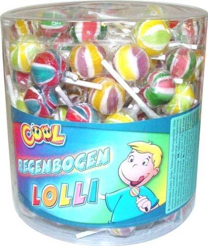Lutscher Cool Lollies Regenbogen Liefermenge = 150 (Lutscher)