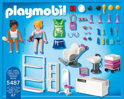 Playmobil 5487 beauty salon vos for Salon playmobil