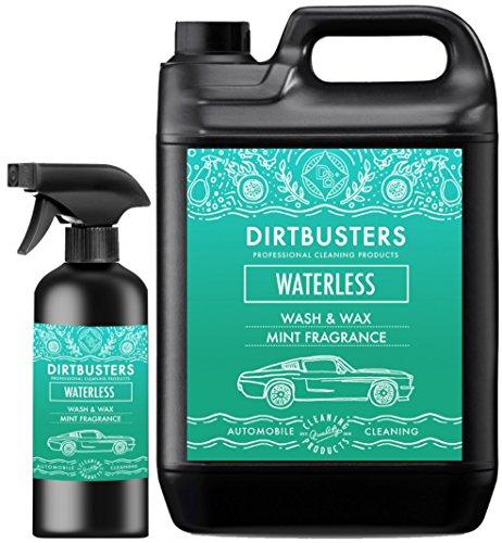 """Autopflegemittel/-reiniger """"Dirtbusters Waterless Car Wash & Wax"""" zum Waschen und Wachsen, mit Minzduft, 500 ml Reinigungsspray, leicht aufzutragen und zu entfernen"""