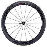 Zipp 404 Firecrest Tubular 77 Front 18 Spokes with Black Decal - Black