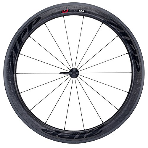 ZIPP Firecrest Front wheel, 404, tubular, carbon, black sticker, Multicolor, M
