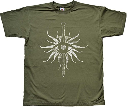 Distressed Inquisition GREEN T Shirt