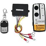 LOVELIFEAST Kit de mando a distancia inalámbrico, para cabrestante  de Jeep Atv, 12 V