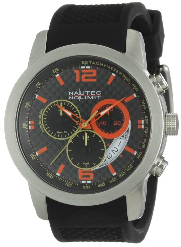 Nautec No Limit Herren-Armbanduhr Cobra CO QZ/RBSTSTCA-KC