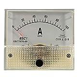 DC 100A Analog Amperemeter -Panel AMP Current Meter 85c1 Spur 0-100A DC mit Shunt
