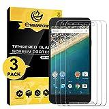 NearPow [3 Pièces] LG Nexus 5X Film Protection D'écran en Verre Trempé (0,26mm HD Protecteur Ecran