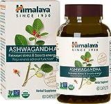 Himalaya Ashwagandha (Indischer Ginseng) - USDA | Vollnatürlicher Energiebooster gegen Stress und Angst, 60 Tabletten 670 mg 1-Monats-Versorgung (2-Pack)