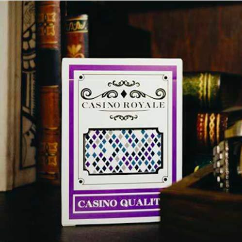 ten Poker Karten Casino Royale Mystic Edition Playing Cards BOMBMAGIC Rare Limited Custom Magic Poker Deck ()