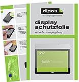 dipos I 2X Schutzfolie matt passend für Acer Switch 7 Folie Displayschutzfolie