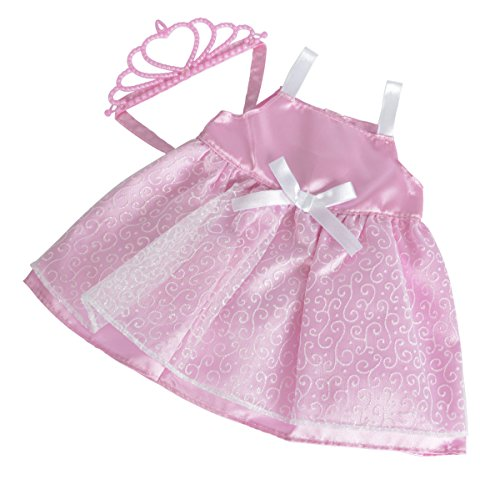 Simba 105402486 - New Born Baby Prinzessin Outfit, 2-er sortiert