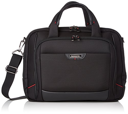 "Samsonite Pro-DLX 4 Laptop Bailhandle 14,1"" Maletín, 15 Litros, Color Negro"
