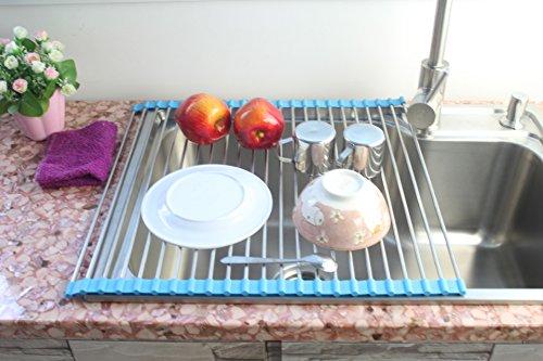 Shangrui multifunktions aus edelstahl drain rack obst und gemüse