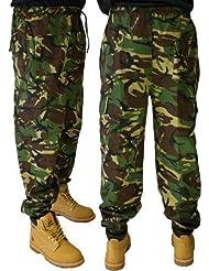 Pantalon de Jogging Combat Armée Militaire Entraînement Style Camouflage Joggeurs - 5 Couleurs Disponible à Partir de S-5XL