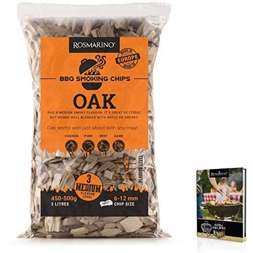 ROSMARINO virutas Barbacoa Roble 500 g - Smoking Chips