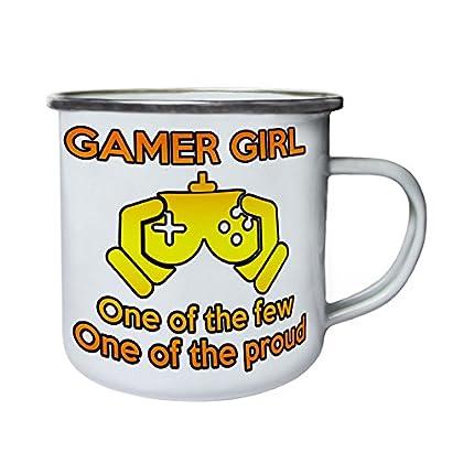 Gamer Girl Pocos De los orgullosos Retro, lata,...