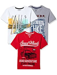 Sunday Sale : Flat 50% And More OFF On Cherokee Boys' Plain Combo T-Shirt (Pack of 3) low price image 2